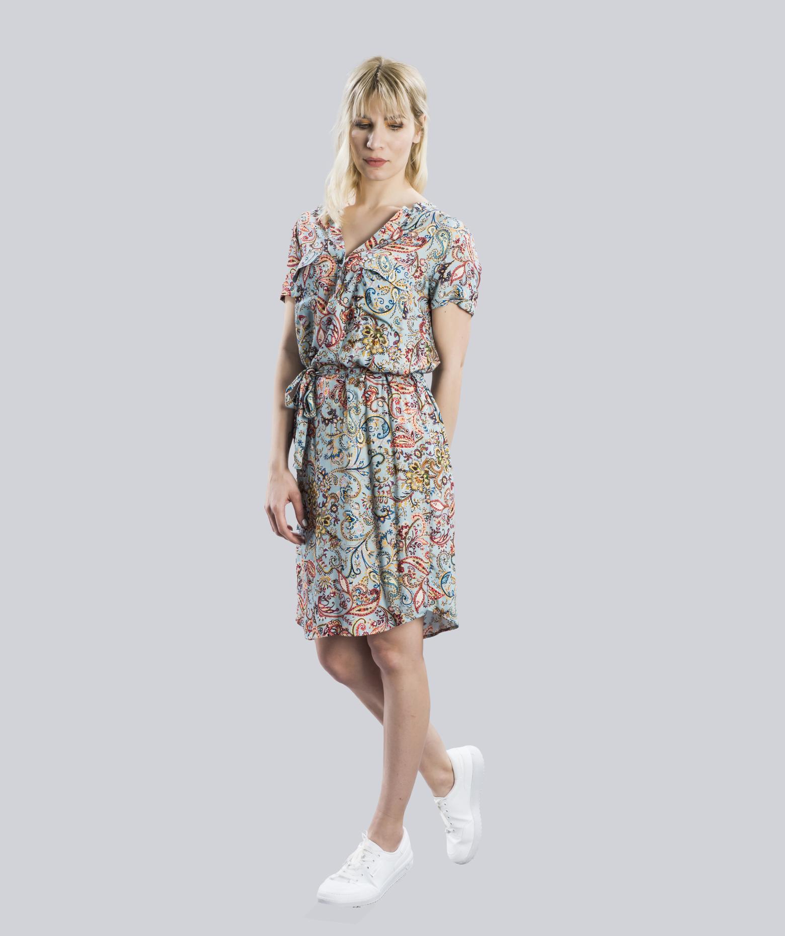 Han Cepli Kısa Kollu Elbise: Meisies'21
