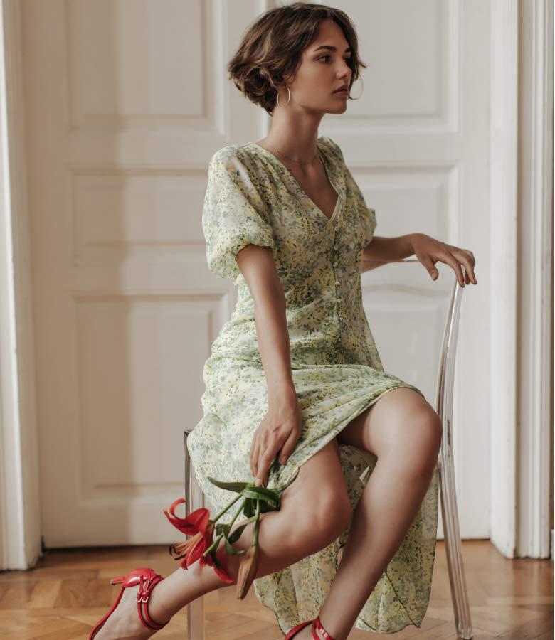 Mixxit Turkey Çiçekli Yazlık Elbise